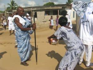 ceremonie in Ghana