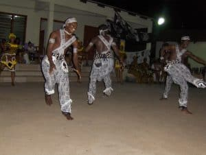 traditionele dans in Ghana