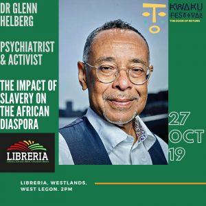 Dr. Glenne Helberg psychiater en activist
